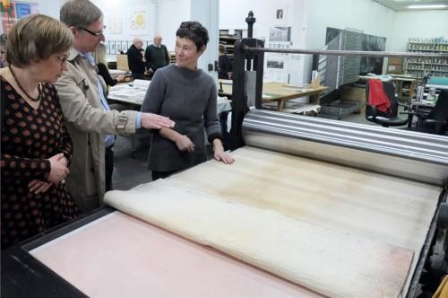 KLUB ARKEN besøger Niels Borch kobberværksted