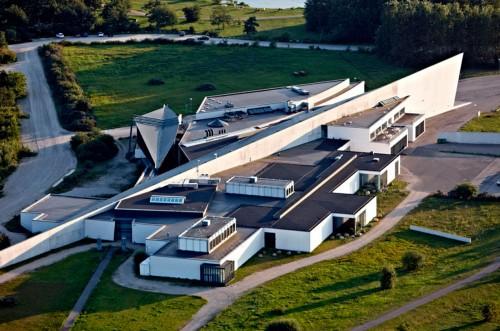 Luftfoto af ARKEN