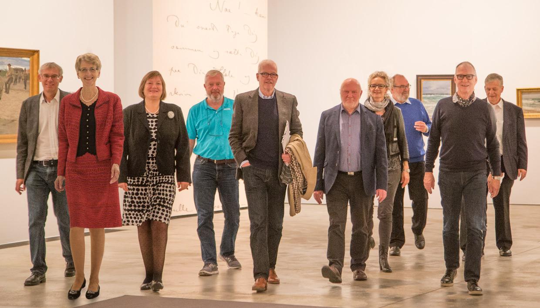 Arken kunstmuseum i syv sind