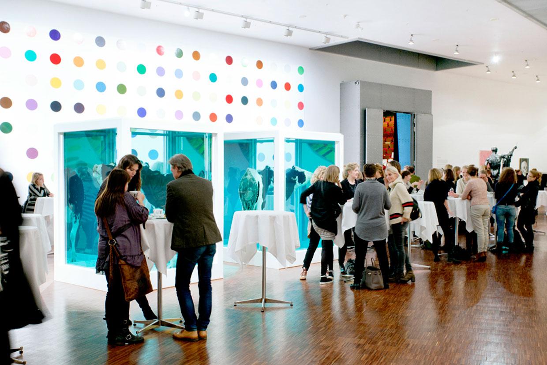 Damien Hirst salen. Møde- og konferencefaciliteter. ARKEN Museum for Moderne Kunst