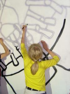 ARKENs billedkunstneriske grunduddannelse (Foto: ARKEN)