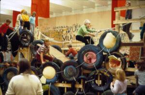 Palle Nielsen: Modellen, Moderna Museet, 1968 (foto: Palle Nielsen)