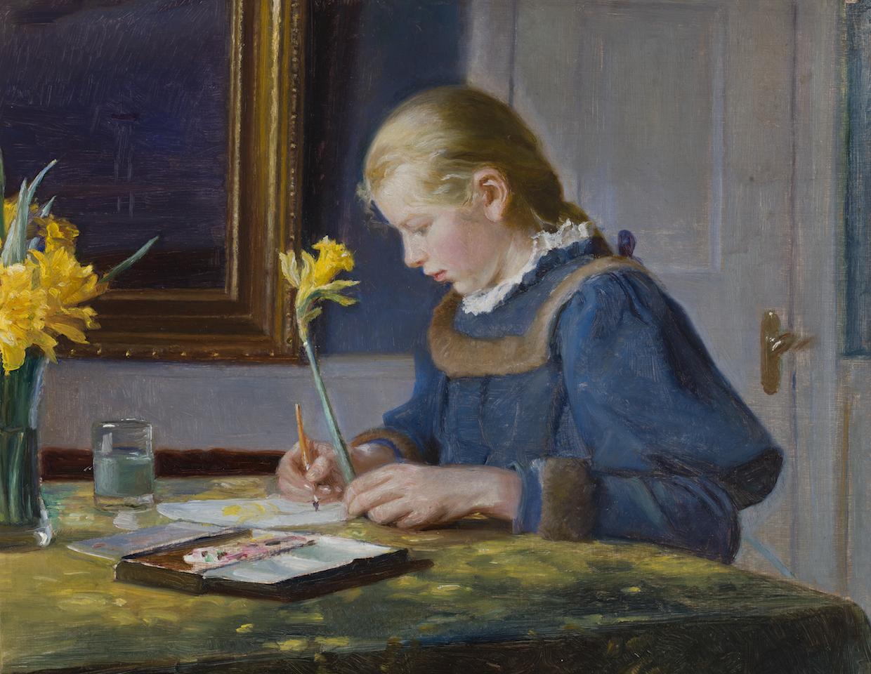 Efterårsferie: Hvem skriver det flotteste postkort?