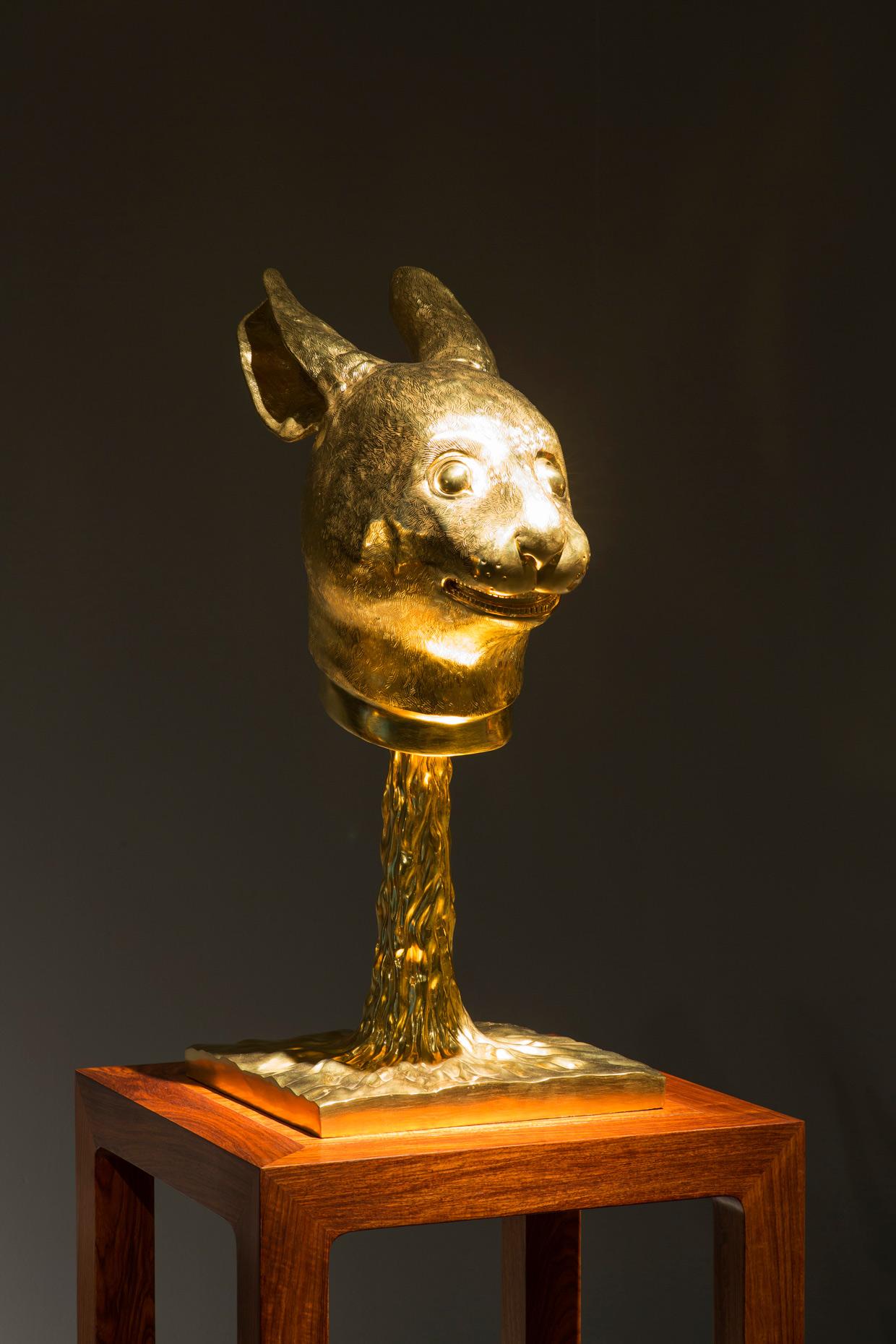 Ai Weiwei, Circle of Animals/Zodiac Heads, 2010. (Rabbit) Foto Anders Sune Berg