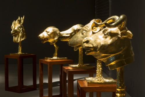Ai Weiwei, Circle of Animals_Zodiac Heads, 2010. Foto Anders Sune Berg