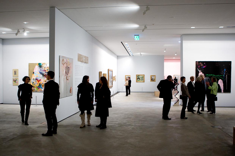 ARKENs nyeste udstillingsrum, indviet i 2008. Foto Lars Skaaning