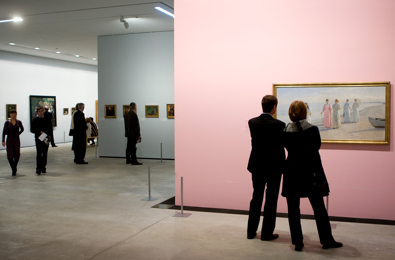ARKENs nyeste udstillingsrum, indviet i 2008. Foto Lars Skaaning(1)