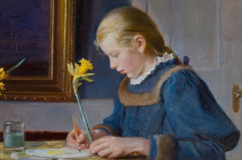 MichaelNyheder: Michael Ancher, En akvarelmalerske