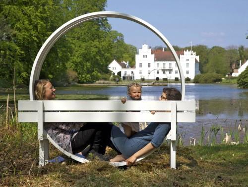 KALENDER: Wanås Konst, Jeppe Hein Modified Social Bench #35, 2012