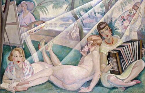 Gerda Wegener, En sommerdag, 1927