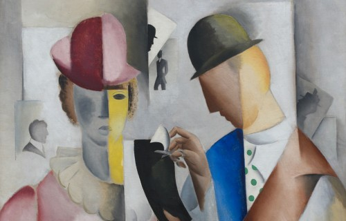 Jais Nielsen, Silhouetklipperen (udsnit), 1918