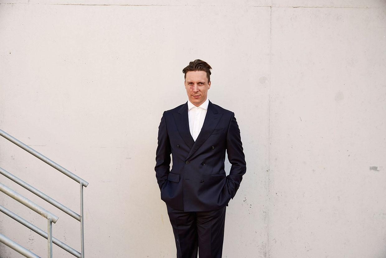 Cyprien Gaillard, modtager af ARKENs Kunstpris 2016. Foto: Henrik Jauert