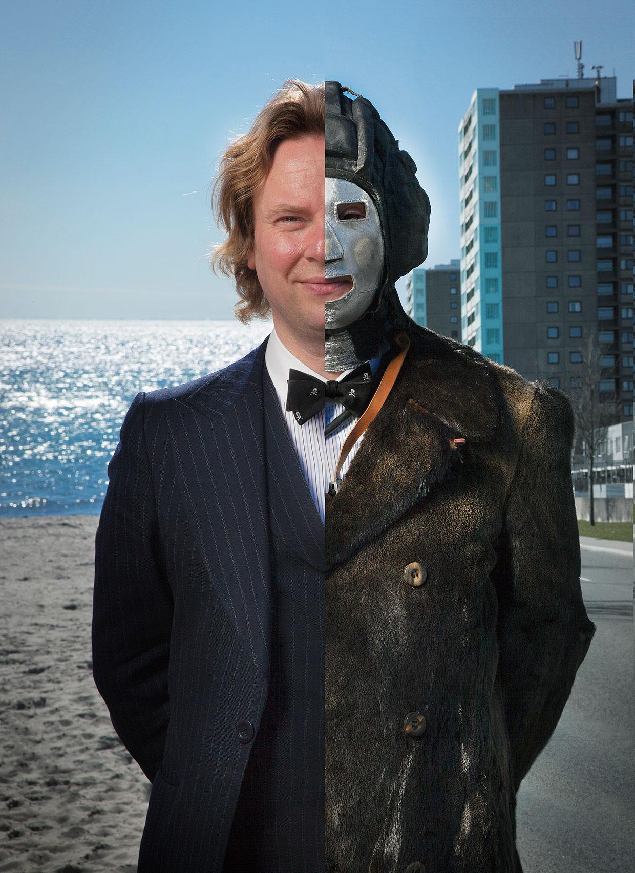 Portræt af Martin Bigum. Foto: Thomas Fryd