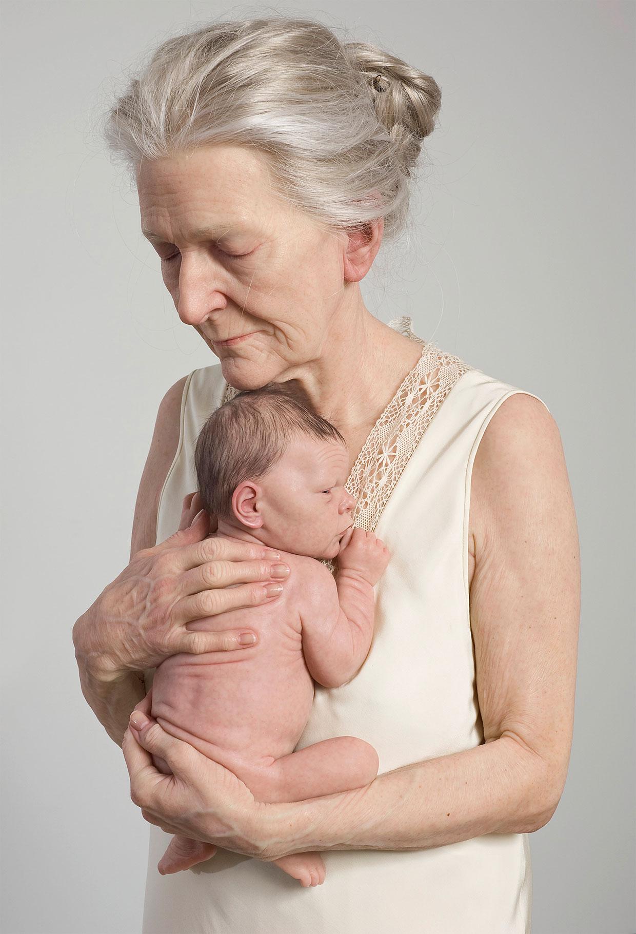 Sam Jinks, Kvinde og barn, 2010. Courtesy kunstneren og Sullivan+Strumpf, Sydney