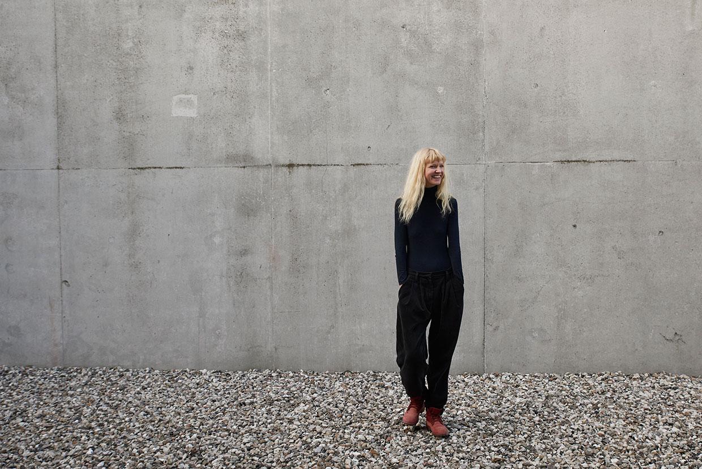 Nina Beier, modtager af ARKENs Rejselegat 2017. Foto: Henrik Jauert