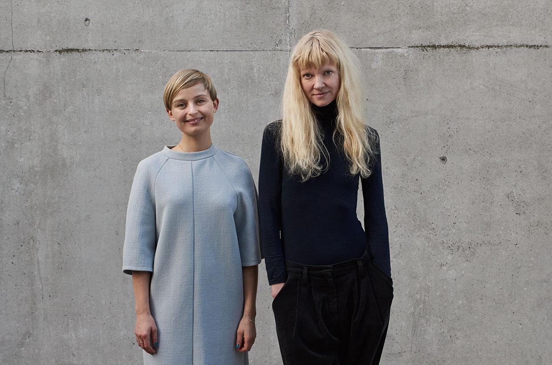 ARKENs Rejselegat 2017, Marie Kølbæk Iversen, Nina Beier. Foto: Henrik Jauert