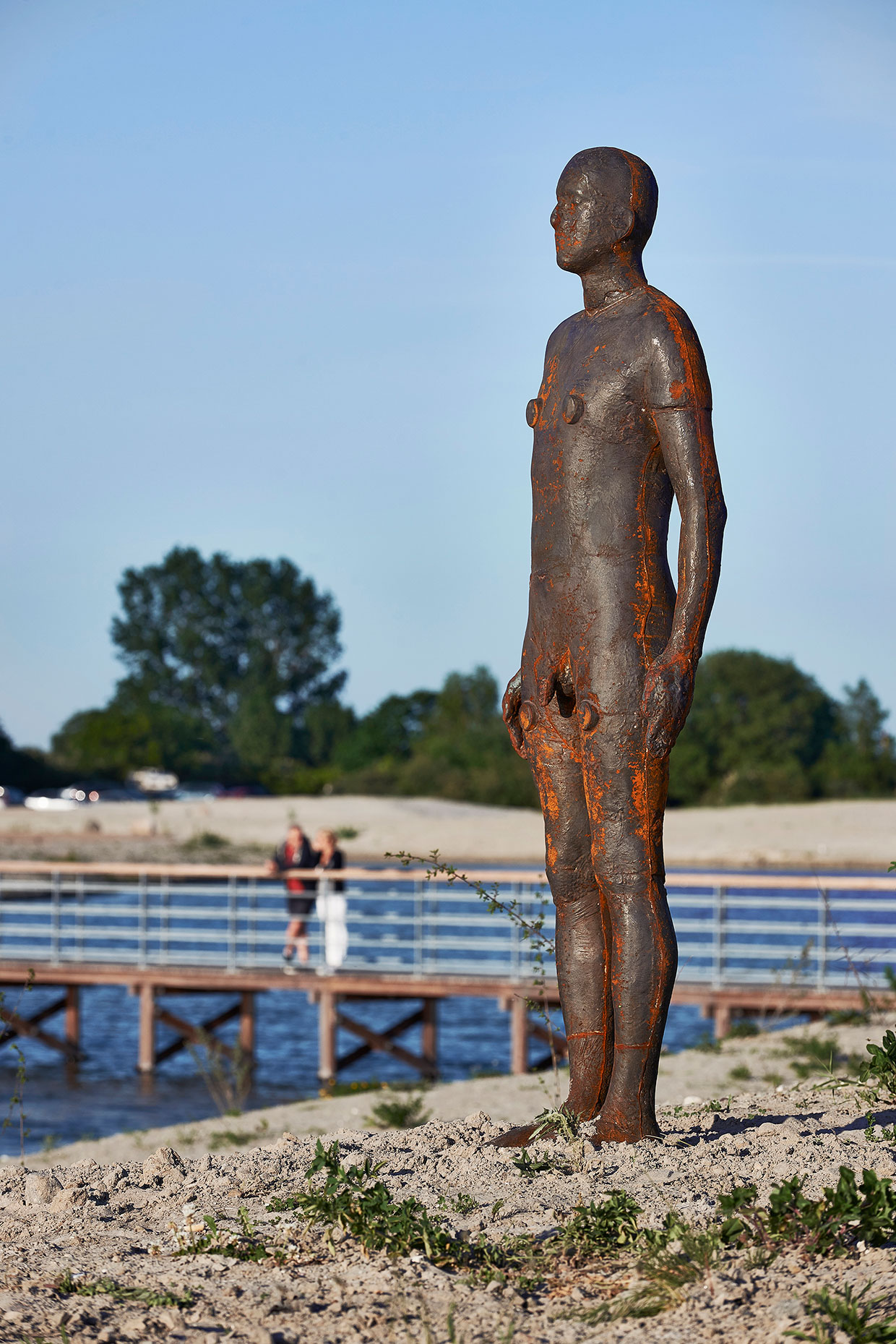 Antony Gormley, Another Time V, 2007. ARKENs samling. Foto: Torben Petersen
