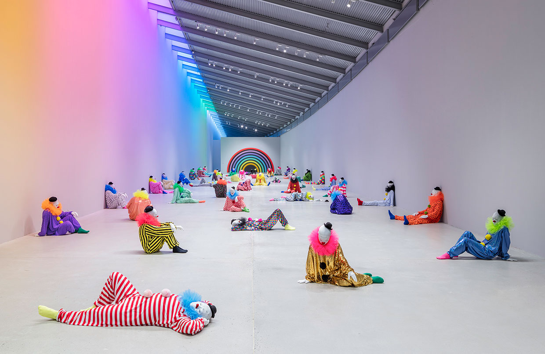 Ugo Rondinone - ensomhedens sprog. ARKEN Museum for Moderne Kunst. Foto: Anders Sune Berg