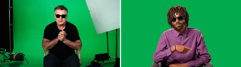 Candice Breitz, Stills fra Love Story, 2016. Med Alec Baldwin og Julianne Moore. Interviewet: Farah Abdi Mohamed. Courtesy Goodman Gallery, Kaufmann Repetto og KOW