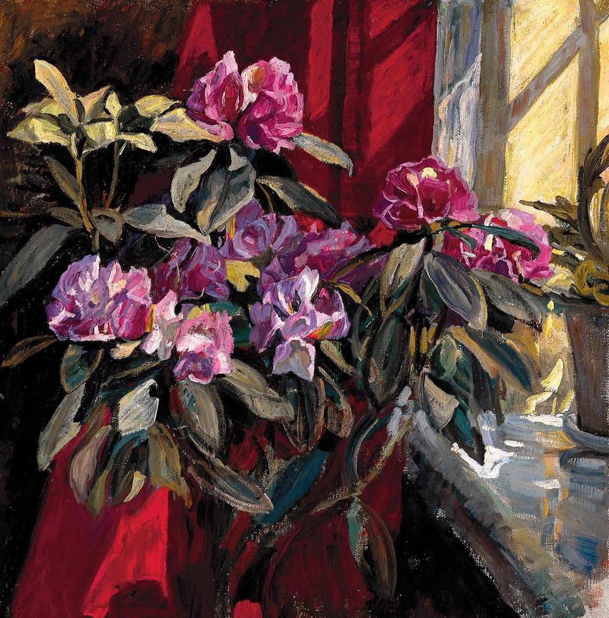 Alhed Larsen, Rhododendron, u.å. Johannes Larsen Museet. Foto: Jens Frederiksen