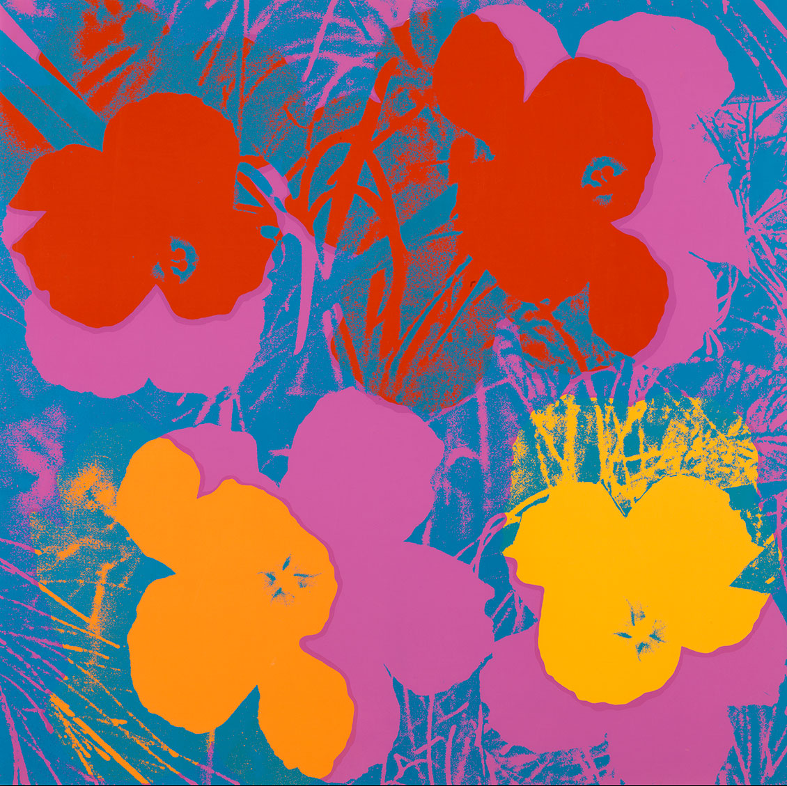 Andy Warhol, Flowers, 1970. Louisiana Museum of Modern Art, Humlebæk. Foto: Poul Buchard / Brøndum & Co.