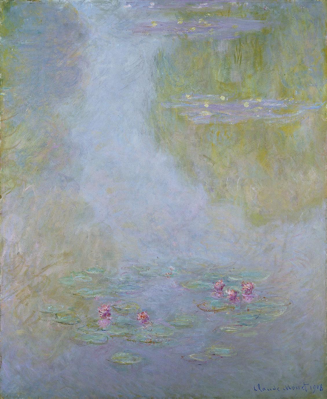 Claude Monet, Åkander, 1908. Amgueddfa Cymru - National Museum Wales. Testamentarisk arv fra Gwendoline Davies, 1951. Foto: National Museum Wales